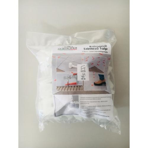 Raimondi szintező talp 1,5 mm 12 mm Lapvastagságig 100 db / csomag