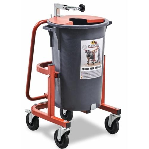 Raimondi speciális keverőedény, különböző hígfolyású anyagok keveréséhez, 75 literes, billenthető