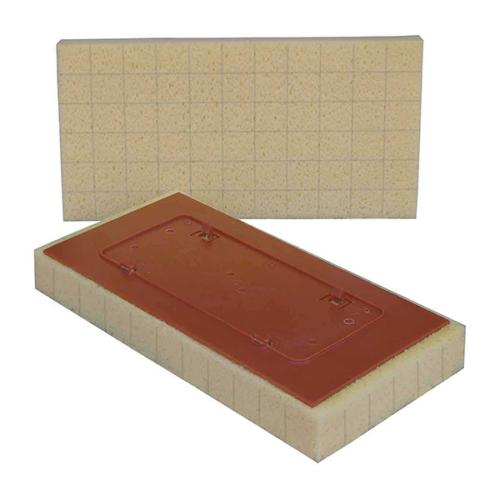 Raimondi Sweepex vágott csere szivacs Easy Lock funkcióval, 17x34x4cm.