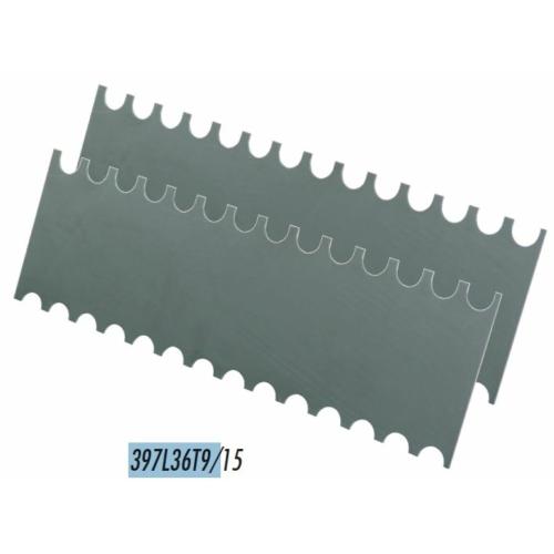 Raimondi fogaslemez Colombo habarcsterítőhöz (9 / 15 mm íves)