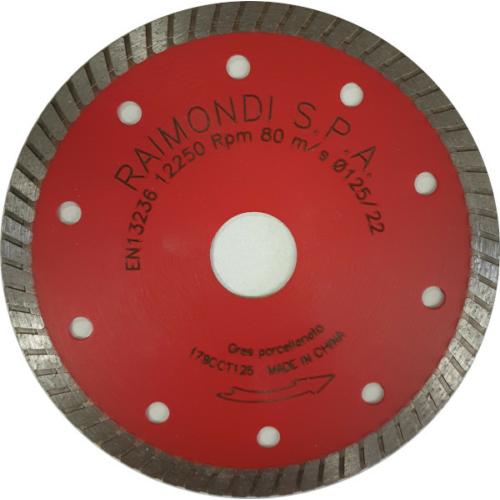 Raimondi gyémánttárcsa, 125 mm, Turbo 179CCT125
